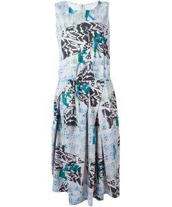 Zucca | Расклешенное Платье С Принтом