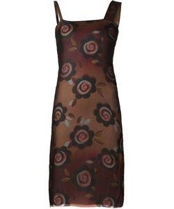 Maison Margiela | Прозрачное Платье С Цветочным Принтом