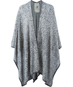 Friendly Hunting | Printed Cape Cardigan