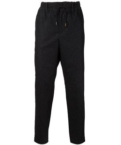 CASELY-HAYFORD | Speckled Straight Leg Trousers