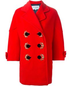 GIANFRANCO FERRE VINTAGE | Декорированное Двубортное Пальто