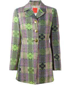 CHRISTIAN LACROIX VINTAGE | Bazar Woven Coat
