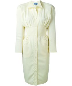 THIERRY MUGLER VINTAGE | Приталенное Платье-Рубашка