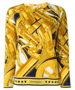 Hermès Vintage | Футболка С Абстрактным Принтом
