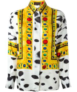 ISTANTE BY GIANNI VERSACE VINTAGE | Mixed Print Shirt