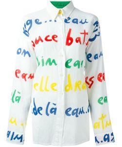 JC DE CASTELBAJAC VINTAGE | Рубашка С Графическим Принтом