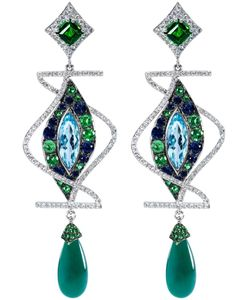 DIONEA ORCINI | Linee Misteriose Diamond Earrings