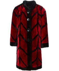 Christian Dior Vintage | Пальто Patterned Из Овчины