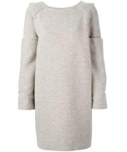 MARTINE JARLGAARD | Платье-Свитер С Утолщенными Рукавами