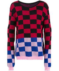 Haider Ackermann | Checked Jumper Medium Cotton/Cashmere