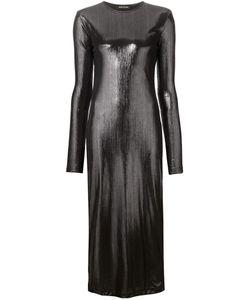 ZAID AFFAS | Облегающее Платье С Длинными Рукавами