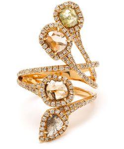 SAQQARA | 18k Diamond Quatrain Ring