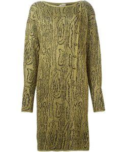 KRIZIA VINTAGE | Вязаное Платье С Узором