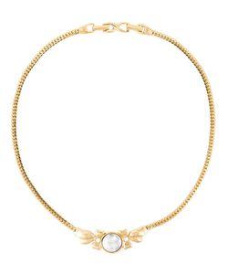NINA RICCI VINTAGE | Ожерелье С Выгравированным Логотипом