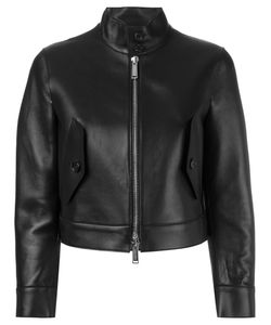 Dsquared2 | Cropped Leather Jacket