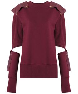 Andrea Bogosian | Cut Out Details Sweatshirt Size Medium