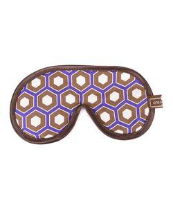 OTIS BATTERBEE | Cobalt Cravat Eye Mask Cotton