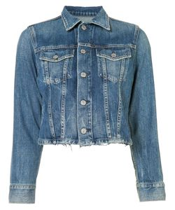 Citizens of Humanity | Stonewashed Denim Jacket Small Cotton/Rayon