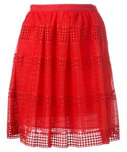 Michael Michael Kors | Patterned Panel Skirt 0