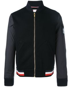 Moncler Gamme Bleu | Mix Media Baseball Jacket Xl
