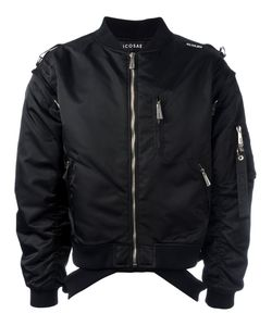 Icosae | Zip-Shoulder Bomber Jacket Men Small