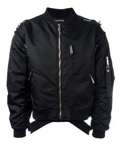 Icosae | Zip-Shoulder Bomber Jacket Small
