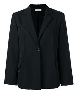 Nina Ricci | Button Up Blazer 40 Silk/Wool