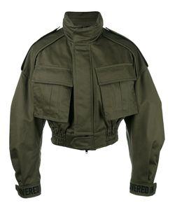 JUUN.J | Cropped Military Jacket Size 44 Cotton