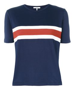 Ganni | Striped Detail T-Shirt