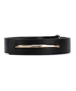 WERKSTATT:M NCHEN   Werkstattmünchen Bar Belt Adult Unisex Medium Leather