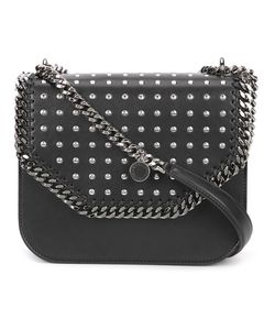 Stella Mccartney | Studded Falabella Box Bag Polyurethane/Polyester/Cotton
