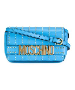 Moschino | Studded Crossbody Bag Leather