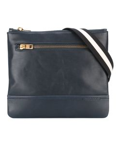 Bally | Striped Strap Messenger Bag Calf Leather