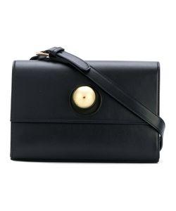 SAVAS   Circle Lock Shoulder Bag Women