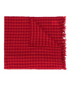 Y'S | Checked Scarf Women