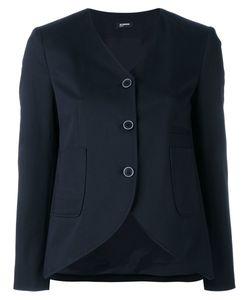 Jil Sander Navy | Curved Hem Jacket Size 40