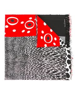 PIERRE-LOUIS MASCIA | Fringed Spots And Stripes Scarf