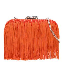 Corto Moltedo | Susan C Star Fringed Clutch Silk/Nappa Leather