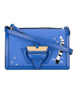 Loewe | Embroide Crossbody Bag Leather/Cotton