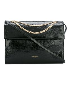 Nina Ricci | Chain Detail Shoulder Bag Patent Leather/Suede