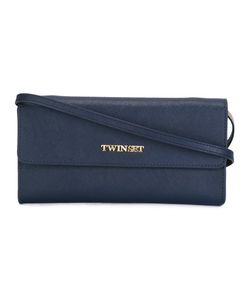 Twin-set | Logo Plaque Crossbody Bag Leather/Polyester
