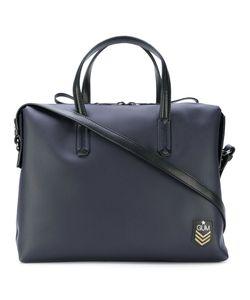 GUM | Structured Logo Messenger Bag