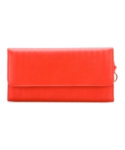 ZANELLATO | Embossed Fold-Over Clutch Leather