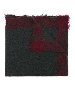 Faliero Sarti | Stripe Stitched Edge Scarf Women Silk/Virgin