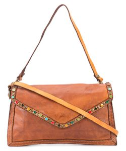 Campomaggi | Embellished Crossbody Bag Leather