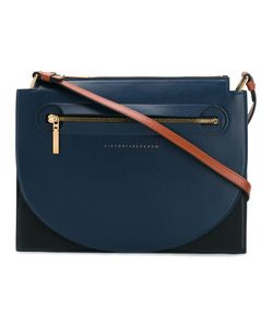 Victoria Beckham | Front Zip Crossbody Bag Calf Leather/Polyamide/Polyurethane