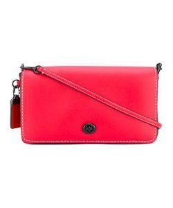 COACH   Stitch Detail Shoulder Bag