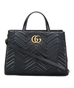 Gucci | Gg Marmont Tote Metal/Leather