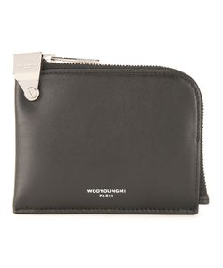 Wooyoungmi | Logo Print Pouch Leather