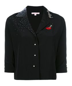 Olympia Le-Tan | Shirt With Sequin Appliqué